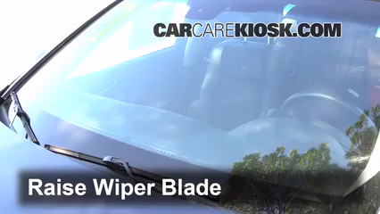 2008 Infiniti M35 X 3.5L V6 Windshield Wiper Blade (Front) Replace Wiper Blades