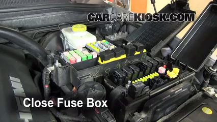 Blown Fuse Check 2006-2010 Jeep Commander - 2008 Jeep Commander Limited  5.7L V8CarCareKiosk