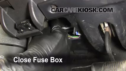 Interior    Fuse Box Location  20062010    Jeep    Commander