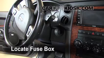 Fuse Interior Part 1 interior fuse box location 2006 2010 jeep commander 2008 jeep 2006 jeep commander power window wiring diagram at panicattacktreatment.co