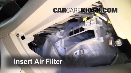 Cabin Filter Replacement Jeep Compass 2007 2010 2008