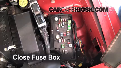 2008 Jeep Compass Sport 2.0L 4 Cyl.%2FFuse Engine Part 2 replace a fuse 2007 2010 jeep compass 2008 jeep compass sport 2010 jeep patriot fuse box locations at readyjetset.co