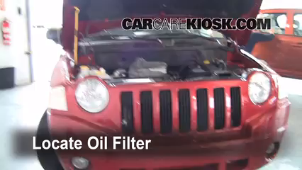 Oil Filter Change Jeep Compass 2007 2010 2008 Jeep Compass