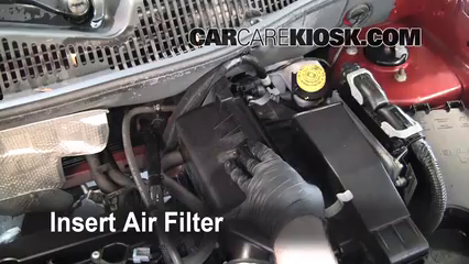 air filter how-to: 2007-2010 jeep compass - 2008 jeep ... jeep tj fuel filter location jeep compass fuel filter location #13