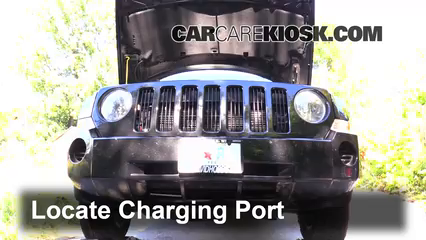 How to Add Refrigerant to a 2007-2017 Jeep Patriot - 2008