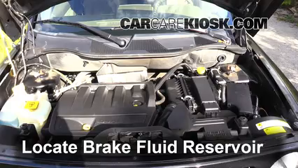 2008 Jeep Patriot Sport 2.4L 4 Cyl. Brake Fluid