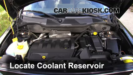 2008 Jeep Patriot Sport 2.4L 4 Cyl. Fluid Leaks Coolant (Antifreeze) (fix leaks)