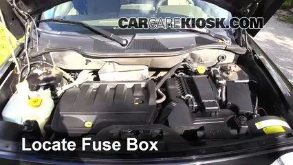Interior Fuse Box Location 2007 2010 Jeep Compass 2008 Jeep