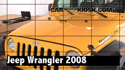 2008 Jeep Wrangler Unlimited Rubicon 3.8L V6 Review