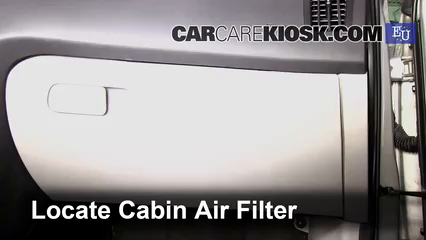 2008 Kia Ceed LX 1.4L 4 Cyl. Air Filter (Cabin)