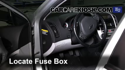 interior fuse box location 2007 2013 kia ceed 2008 kia ceed lx 2011 Mustang Fuse Box