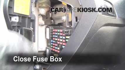 interior fuse box location 2005 2010 kia sportage 2008. Black Bedroom Furniture Sets. Home Design Ideas