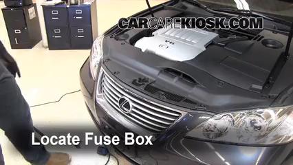Fuse Engine Part 1 replace a fuse 2007 2012 lexus es350 2008 lexus es350 3 5l v6
