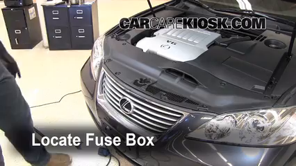 Replace A Fuse 2007 2012 Lexus Es350 2008 Lexus Es350 3