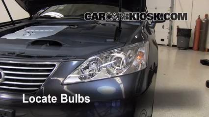 Interior Fuse Box Location: 2007-2012 Lexus ES350 - 2008