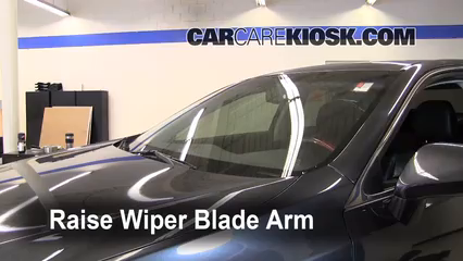 2008 Lexus ES350 3.5L V6 Windshield Wiper Blade (Front) Replace Wiper Blades
