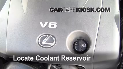 2008 Lexus IS250 2.5L V6 Refrigerante (anticongelante)