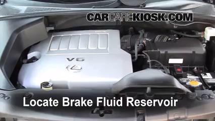 2008 Lexus RX350 3.5L V6 Brake Fluid