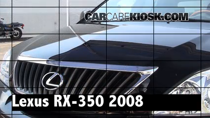 2008 Lexus RX350 3.5L V6 Review