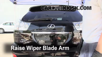 2008 Lexus RX350 3.5L V6 Windshield Wiper Blade (Rear)