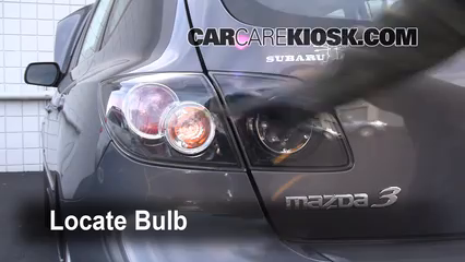 2008 Mazda 3 S 2.3L 4 Cyl. Hatchback Lights