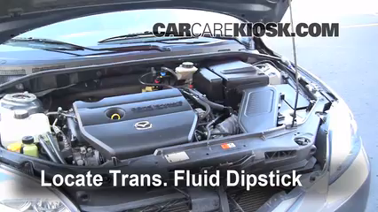 2008 Mazda 3 S 2.3L 4 Cyl. Hatchback Transmission Fluid Check Fluid Level