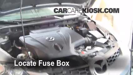 Interior Fuse Box Location: 2007-2012 Mazda CX-7 - 2008 Mazda CX-7