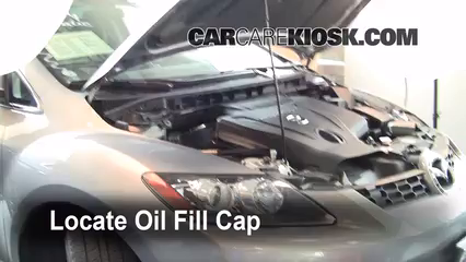 2008 Mazda CX-7 Sport 2.3L 4 Cyl. Turbo Oil Add Oil