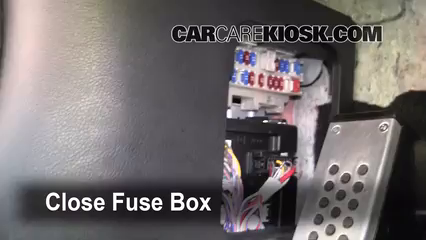 interior fuse box location: 2003-2009 nissan 350z - 2008 nissan 350z 3 5l v6