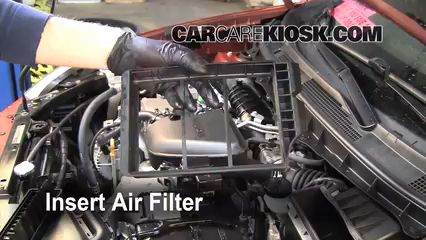 does a 2008 nissan rogue have a fuel filter