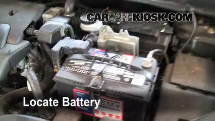 2008 Nissan Sentra S 2.0L 4 Cyl. Battery Replace