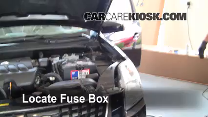 Interior Fuse Box Location: 2007-2012 Nissan Sentra - 2008