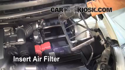 Air Filter How To 2007 2012 Nissan Versa 2007 Nissan