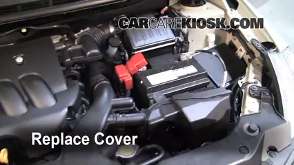How to Clean Battery Corrosion: 2007-2012 Nissan Versa ...