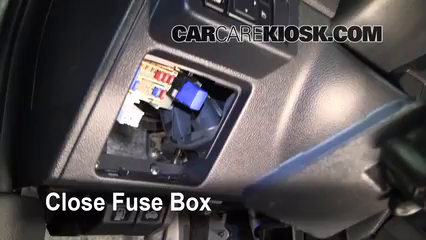 Interior Fuse Box Location  20072012    Nissan    Versa  2008