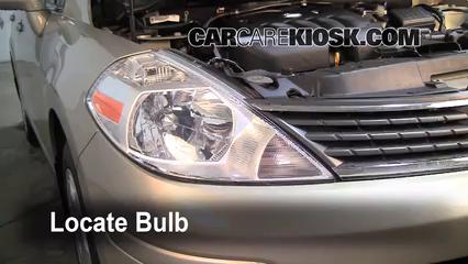 Headlight Change 2007 2012 Nissan Versa 2008 Nissan