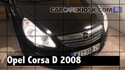2008 Opel Corsa D 1.2L 4 Cyl. Review