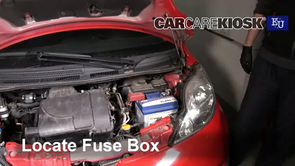 Interior Fuse Box Location: 2005-2014 Citroen C1 - 2008 Citroen C1 Advance  1.0L 3 Cyl.CarCareKiosk