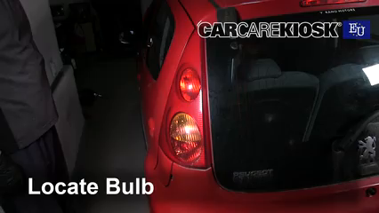 2008 Peugeot 107 Trendy 1.0L 3 Cyl. Luces