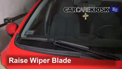 2008 Peugeot 107 Trendy 1.0L 3 Cyl. Windshield Wiper Blade (Front)