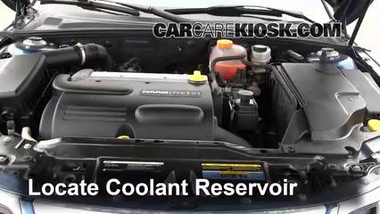 Fix Coolant Leaks: 2008-2011 Saab 9-3 - 2008 Saab 9-3 2 0T 2 0L 4