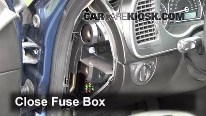 Interior Fuse Box Location: 2008-2011 Saab 9-3 - 2008 Saab ...