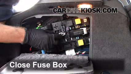 Interior Fuse Box Location 2008 2008 Saturn Astra 2008