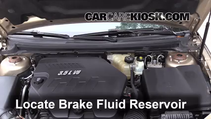2008 Saturn Aura XE 3.5L V6 Brake Fluid