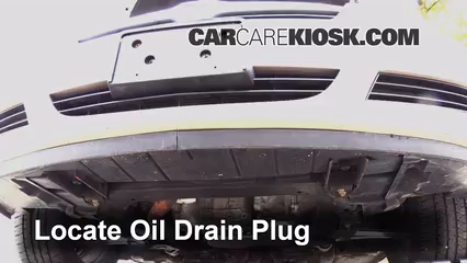 2008 Saturn Aura XE 3.5L V6 Oil Change Oil and Oil Filter