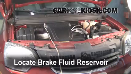 2008 Saturn Vue XE 2.4L 4 Cyl. Brake Fluid Add Fluid