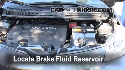2008 Scion xD 1.8L 4 Cyl. Brake Fluid