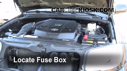 04 4runner Fuse Box - Technical Diagrams on
