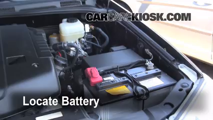 2008 Toyota 4Runner SR5 4.0L V6 Battery Clean Battery & Terminals