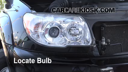 2008 Toyota 4Runner SR5 4.0L V6 Lights Turn Signal - Front (replace bulb)